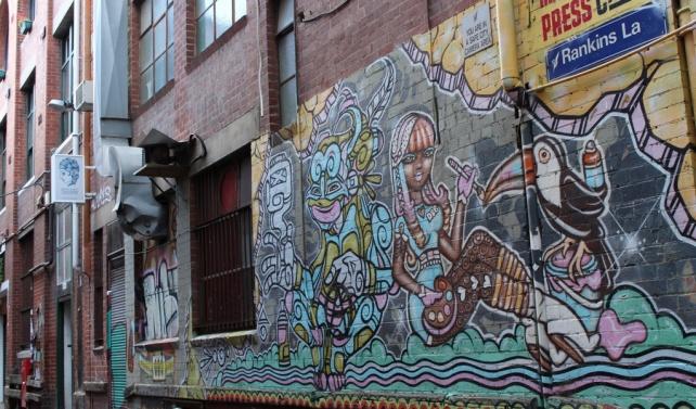 Melbourne side street