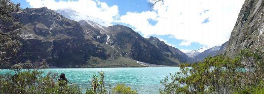Laguna Llangunuco, 3850 msnl