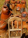 Cooking pots on reeds