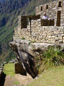 Inca mountain-harmonising architecture