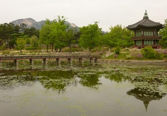 Spring in Gyeongbukgung Palace, Seoul