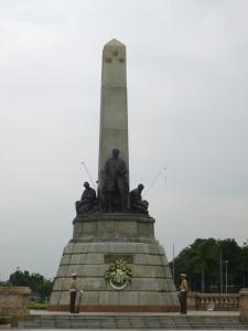 Monument to national hero, renaissance man Jose Rizal.