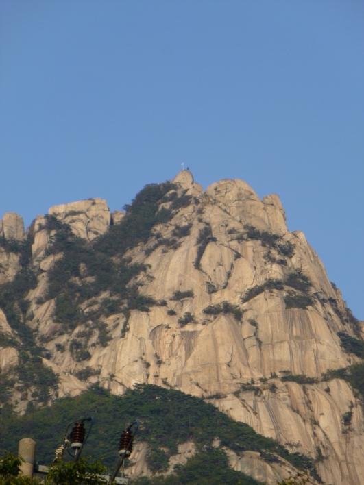 Baegundae peak, Bukhansan