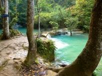 Lower pools at Koung Xi