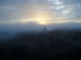 Dawn over Tikal