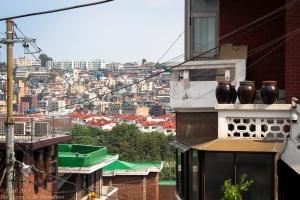 Haebangchon hillside