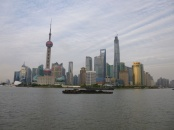 Shanghai skyline by day
