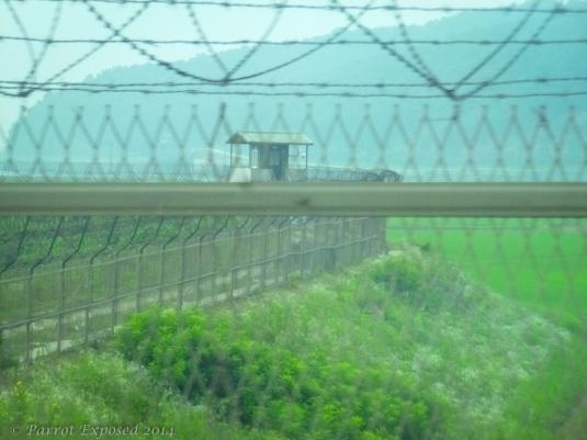 DMZ crossing at Paju