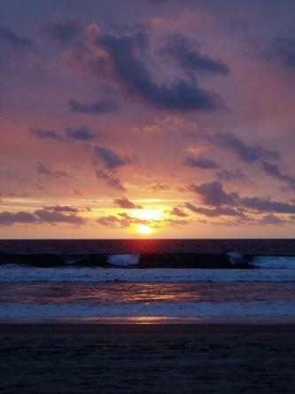 Sunset at Kamala