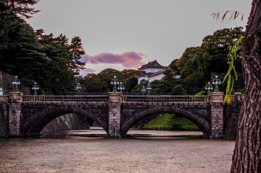 Double bridge Imperial Palace
