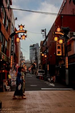 Passers-by Asakusa street