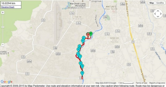 Ping river 10km