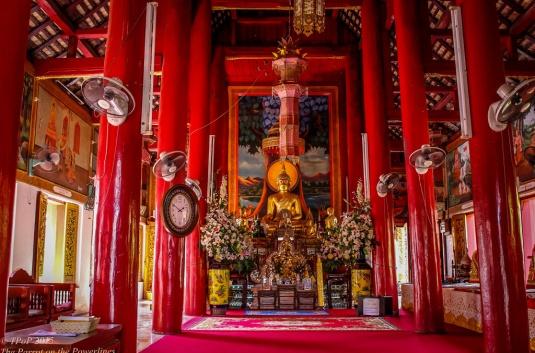 Inside Wat Chediliem