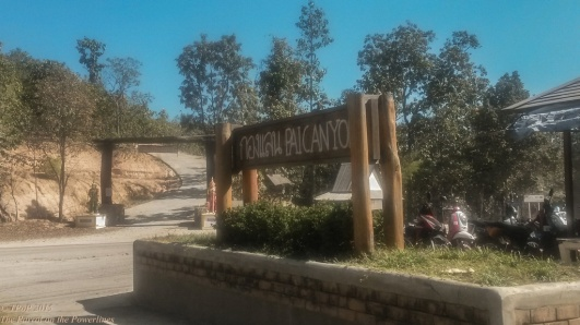 Pai Canyon entrance