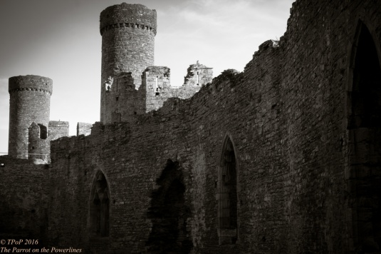 Conwy castle - Outer Ward