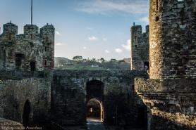 Conwy - entrance