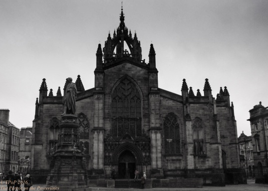 St Giles' Cathedral on the Royal Mile