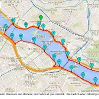 Run day Monday: Hangang half-marathon training circuit
