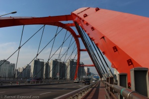 Hangang half - Seogang bridge