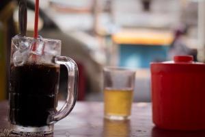 Street cafe ca phe