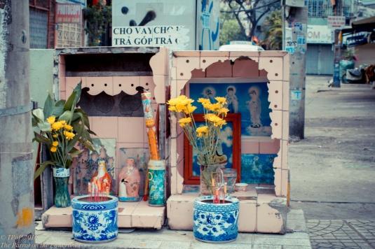 109 Street shrine