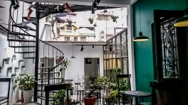 Boeing coffee shop, Hanoi