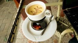 boiled egg - coffee