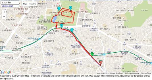 Sillim-dong Boromae run