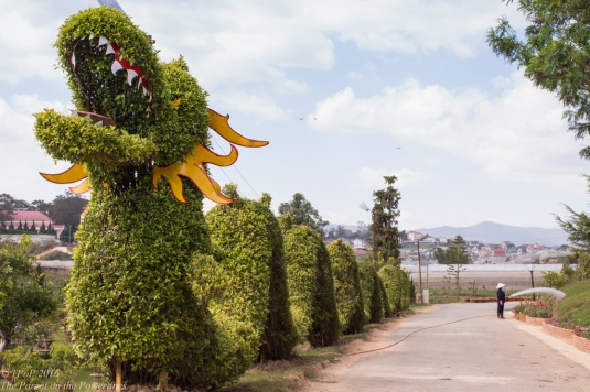 Topiary Dragon