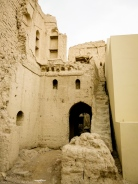 Nizwa crumbling fortress