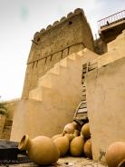 Nizwa pots and fort