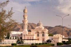 Pretty Mosque near the beach
