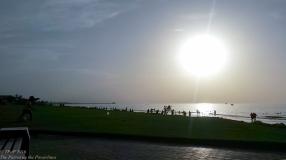 Sunset on shatti Al Qurm