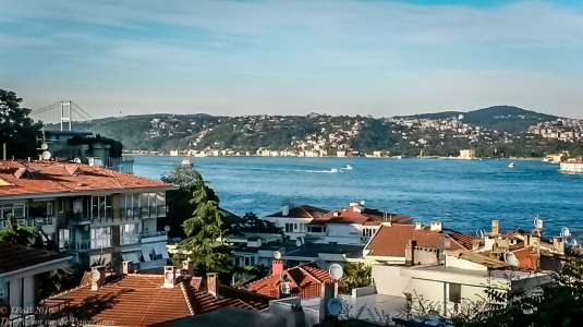 Bosphorus from the hill