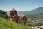Byzantine church overlooking Berat