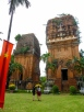 Cham towers of Quy Nhon