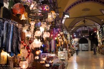 Grand Bazaar lanterns