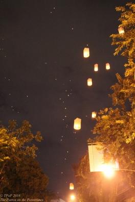 Lanterns of Loi Krathong