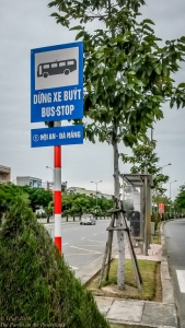 Route #1 bus stop
