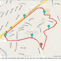 Run day Monday: MQ (Madinat Sultan Qaboos) 5.5km