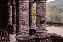 Dragons guard the stele