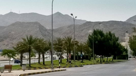 Hills of Muscat