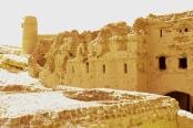 Sun-baked ruins