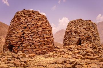 Hillside tombs