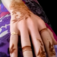 My first henna tattoo... and other TEFL tales