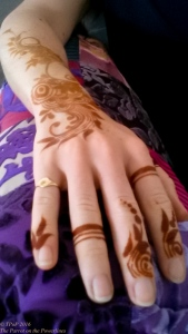 My first henna tattoo