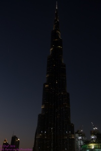 Burj-by-night