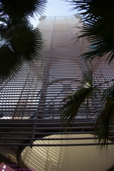 Masdar City wind tower