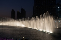 Racing fountains